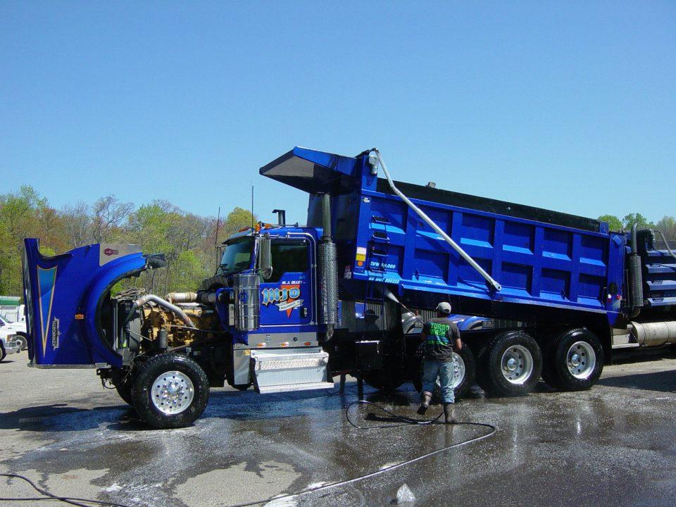 Blue Truck Image